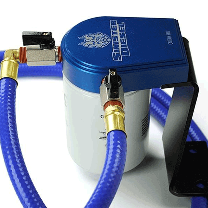 Sinister Diesel Coolant Filtration System | 2001-2010 Chevy