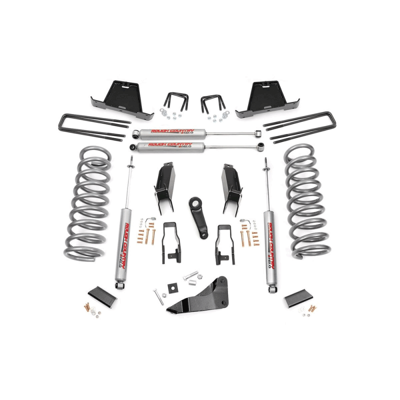 Build A 2013 3500 Kit: Rough Country 5in Suspension Lift Kit