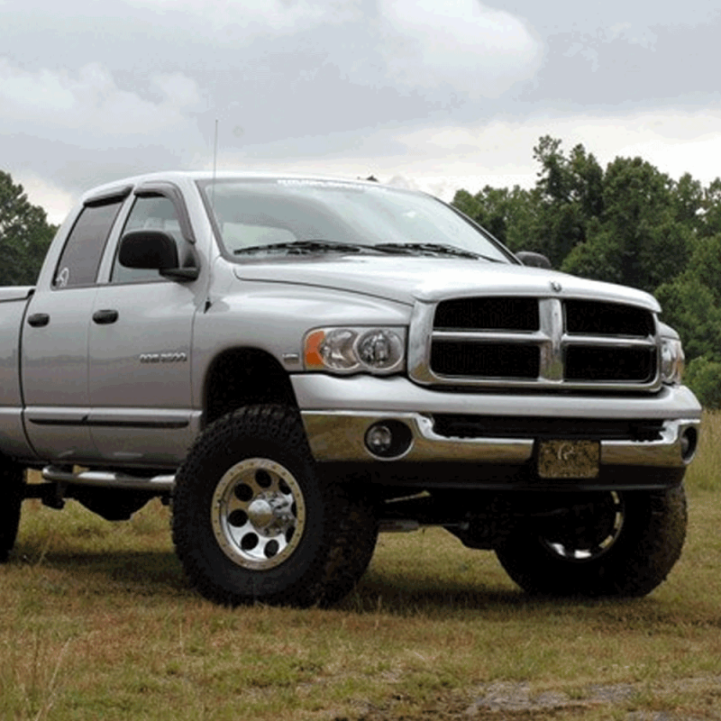 Jeep Leveling Kit >> Rough Country 5in Suspension Lift Kit | 2003-2007 5.9L ...