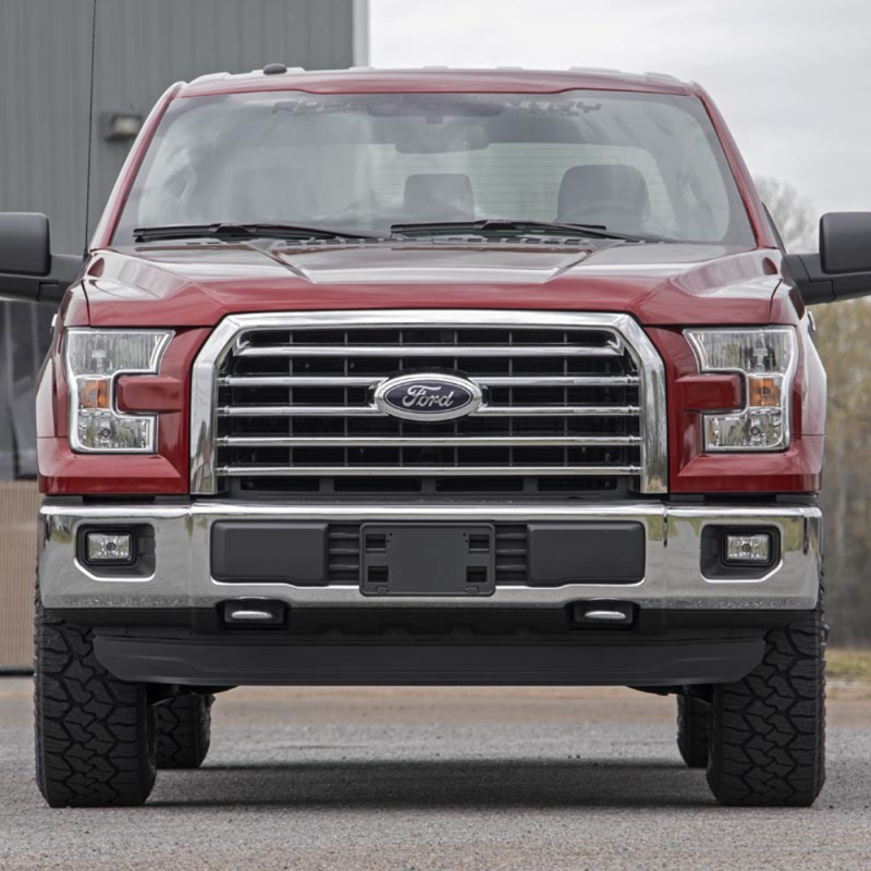 rough country 2in leveling lift kit 2015 2018 ford f 150 2wd 4wd