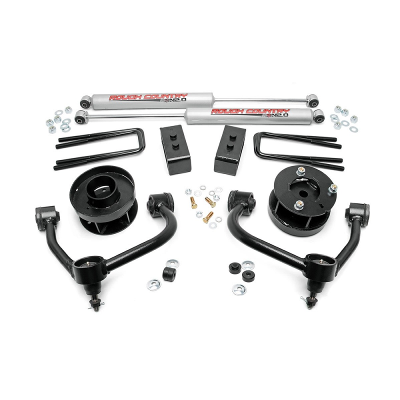 Rough Country 3in Bolt On Arm Lift Kit 2009 2013 Ford F