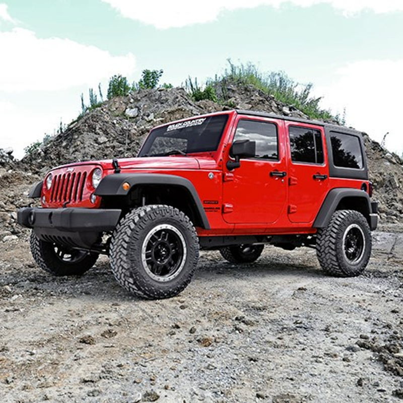 Rough Country 5 Inch Suspension Lift Kit: Rough Country 2.5in Suspension Lift Kit