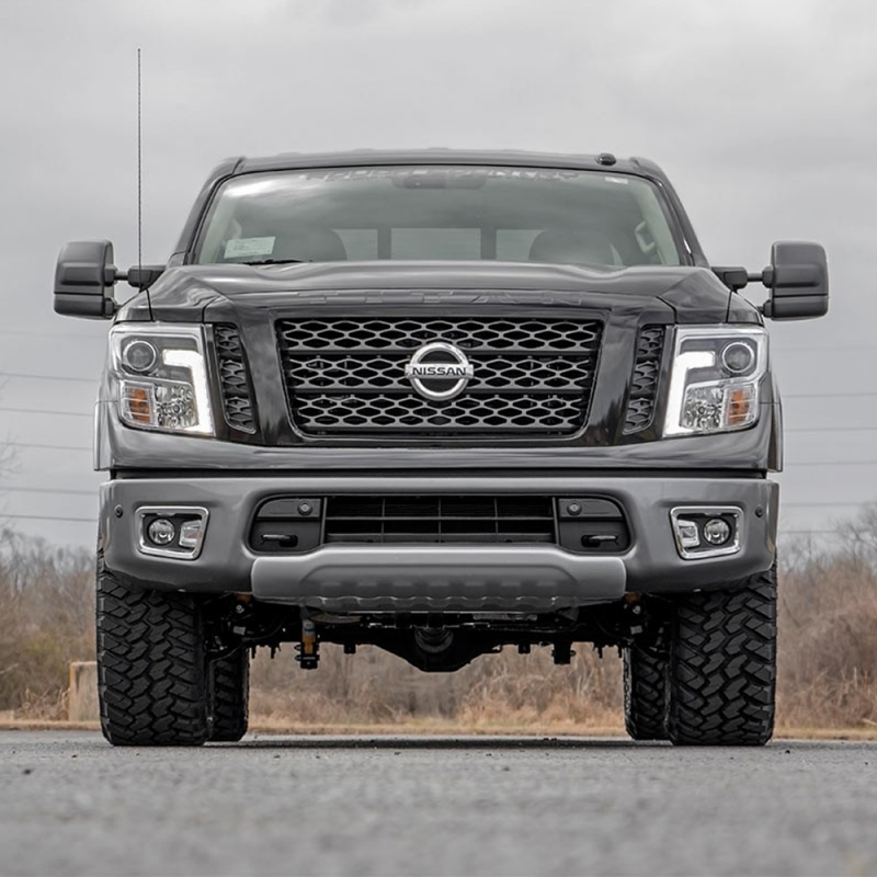 Lift Kits For Jeeps >> Rough Country 3in Bolt-On Lift Kit | 2004-2018 Nissan Titan 2WD/4WD | Dale's Super Store
