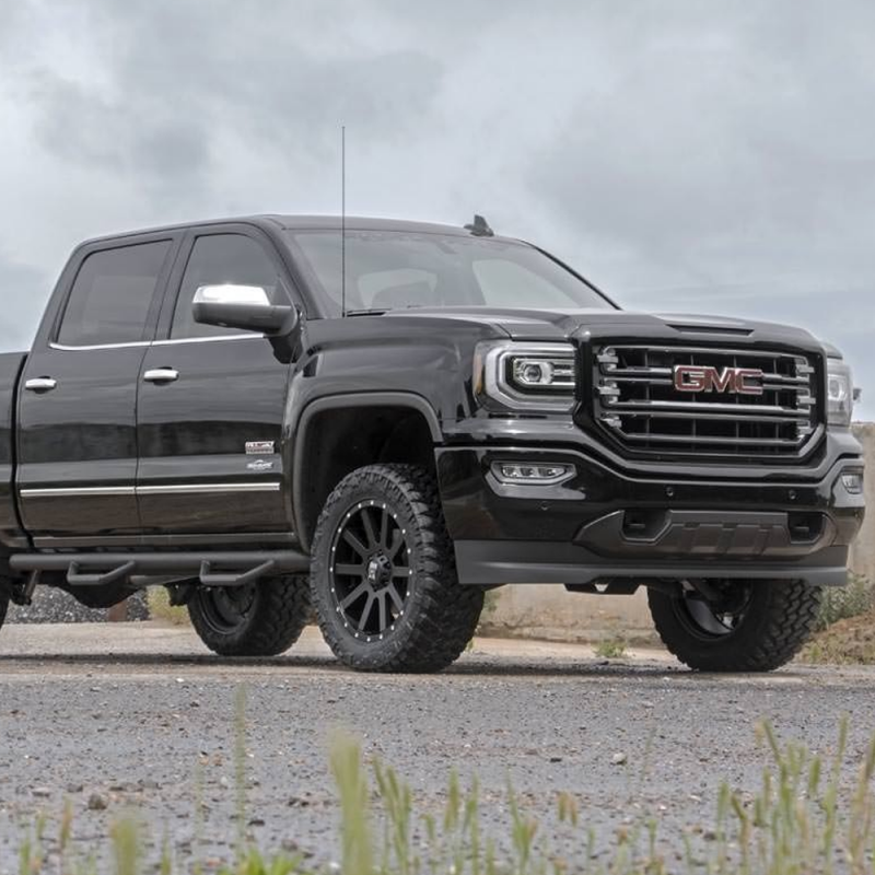 Rough Country 5 Inch Suspension Lift Kit: Rough Country 3.5in Suspension Lift Kit W/Upper Control