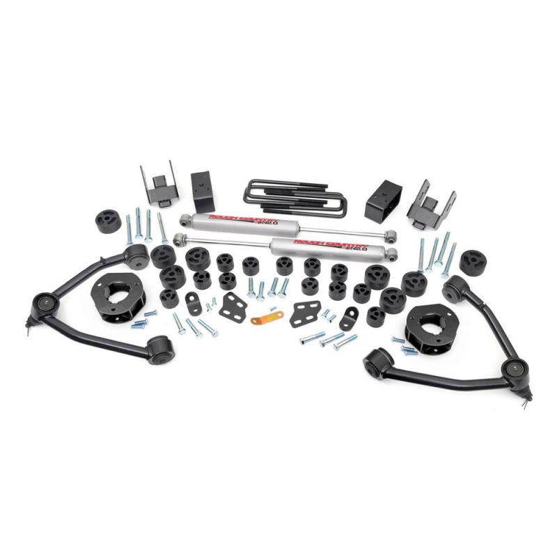 4.75in Gm Combo Lift Kit >> Rough Country 4.75in Combo Lift Kit | 2007-2013 GM 1500 2WD P/U | Dale's Super Store