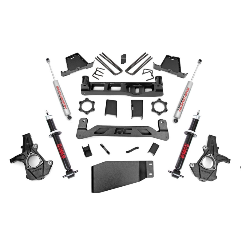 Rough Country 5 Inch Suspension Lift Kit: Rough Country 7.5in Suspension Lift Kit