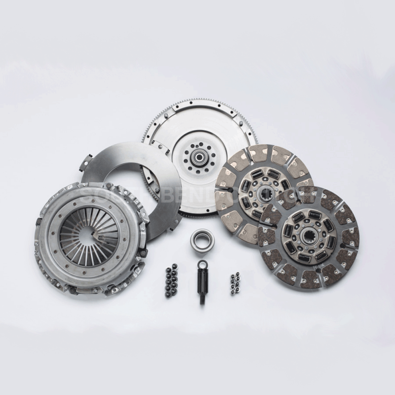 south bend street dual disc clutch kit wflywheel     ford powerstroke dales