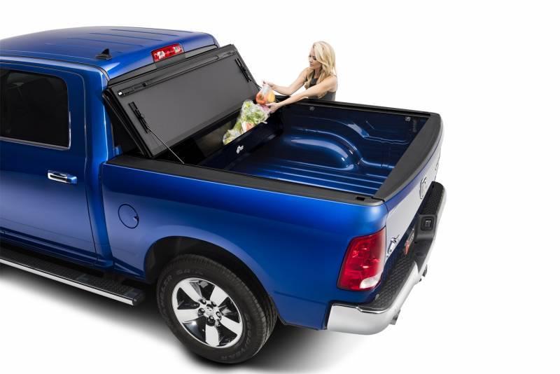 "Tonneau Cover Dodge Ram 1500 >> BAK Flip MX4 Matte Finish Tonneau Cover 448227 | 2019 DODGE Ram W/O Ram Box 5' 7"" Bed"