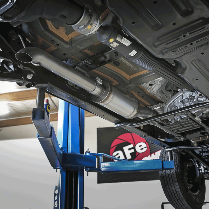 """Black Jeep Cherokee >> aFe Power ROCK BASHER 3"""" 409 Stainless Cat-Back Exhaust ..."""