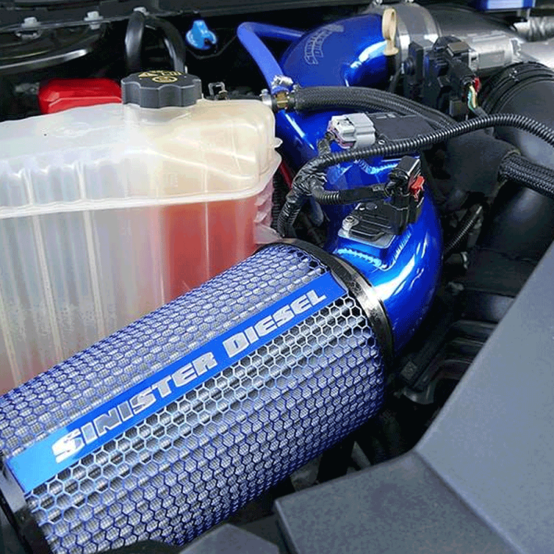 Sinister Diesel Cold Air Intake For 2013 2016 Chevy Gmc