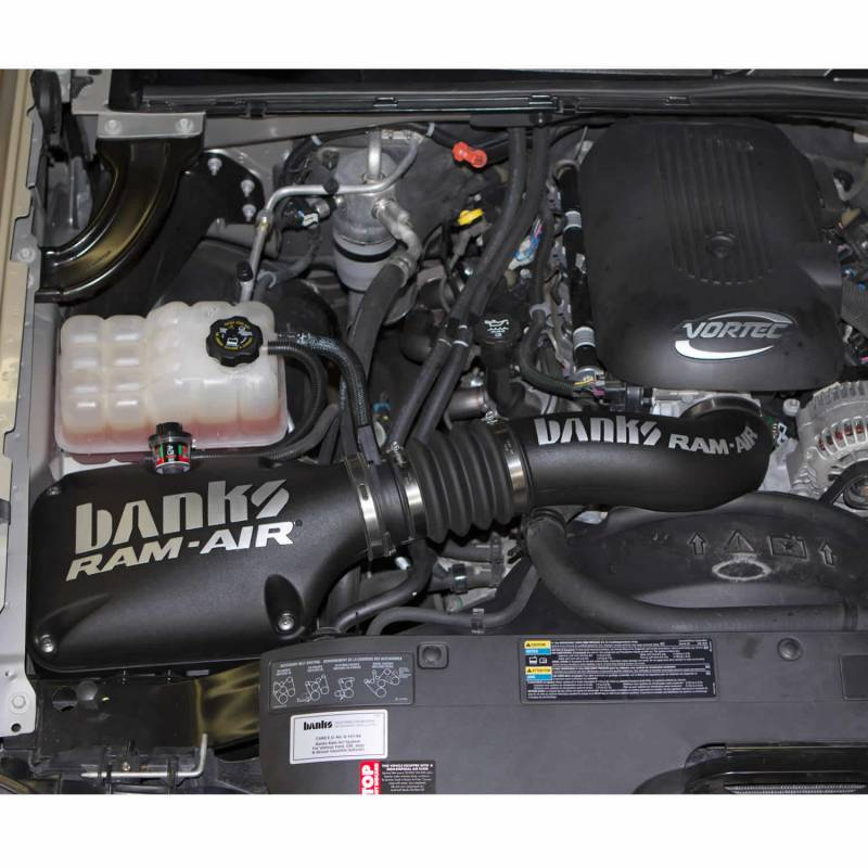 Banks Power Ram-Air Cold-Air Intake System, Oiled Filter ...
