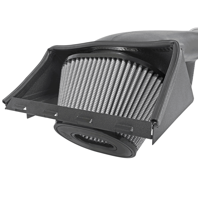 Dry, 3-Layer Filter aFe Power 51-32112-B Magnum Force Ford F-150 EcoBoost Performance Intake System