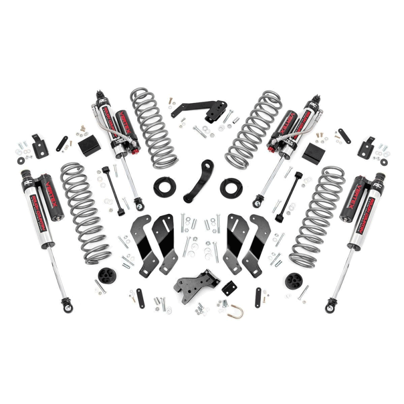 rough country 3 5in control arm drop suspension lift kit w