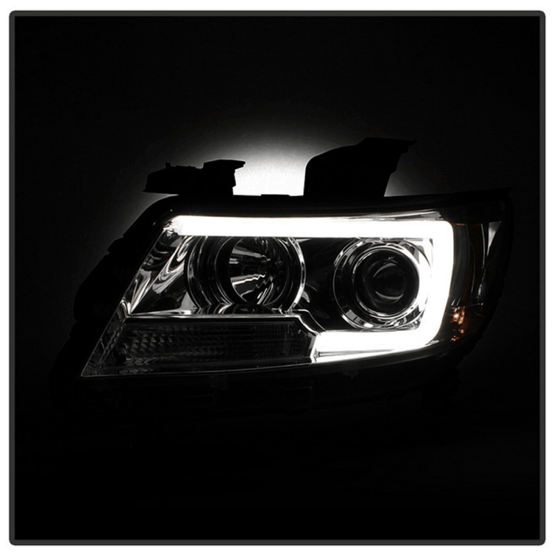 Spyder® Chrome LED DRL Bar Projector Headlights | 2015-2017