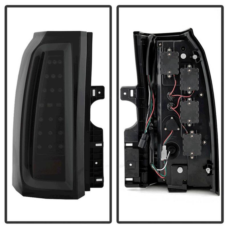 Spyder® Black/Smoke LED Tail Lights | 2015-2017 Chevy ...