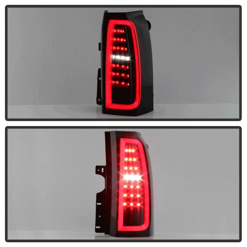 Spyder Black Smoke Led Tail Lights