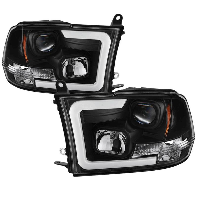 Spyder® Black LED DRL Bar Projector Headlights | 2009-2016