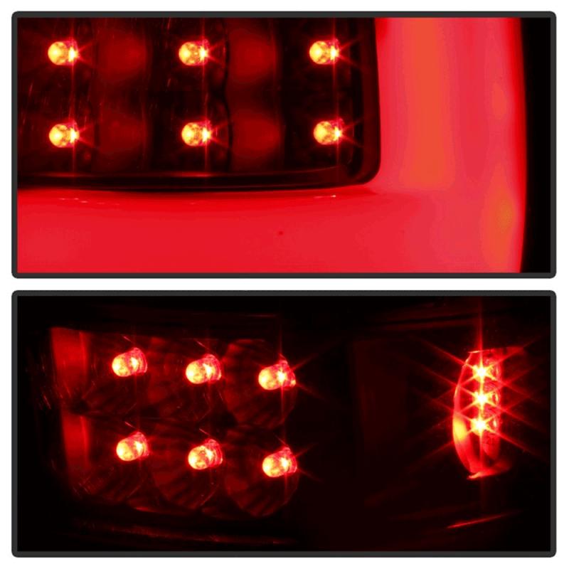 Spyder 174 Black Smoke Fiber Optic Led Tail Lights 2004