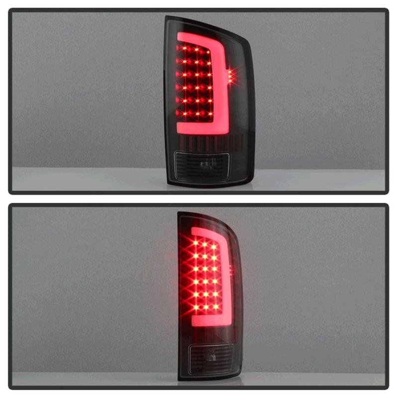 Spyder 174 Black Fiber Optic Led Tail Lights 2002 2006