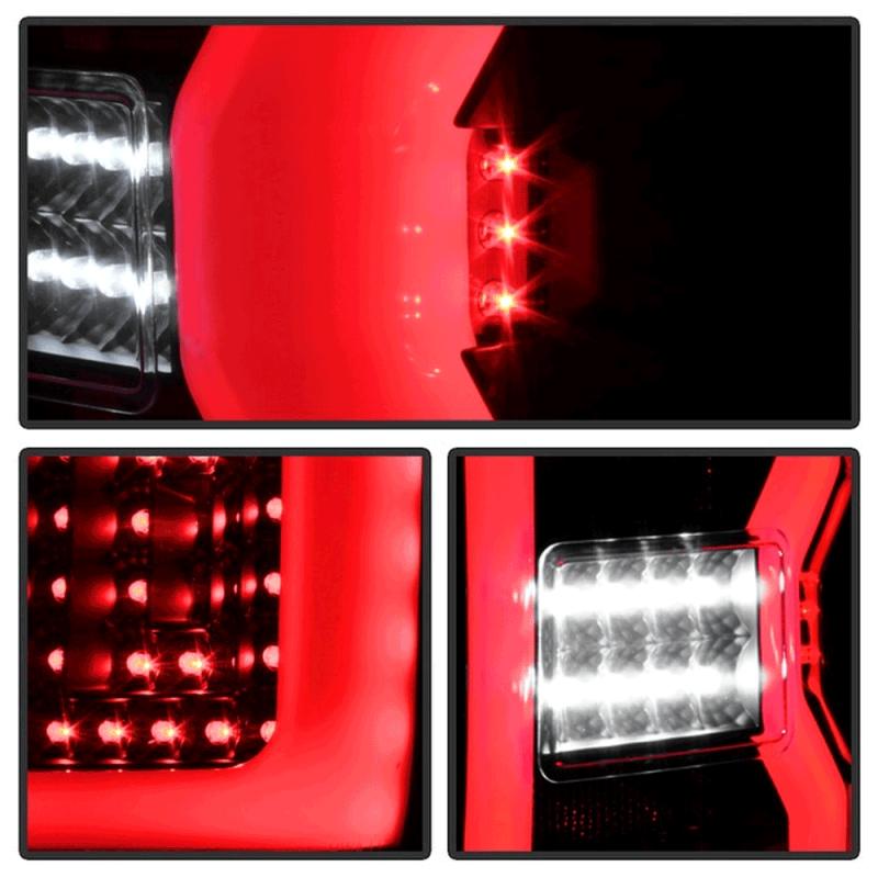 High Country Chevy >> Spyder® Black Fiber Optic LED Tail Lights | 2015-2018 ...