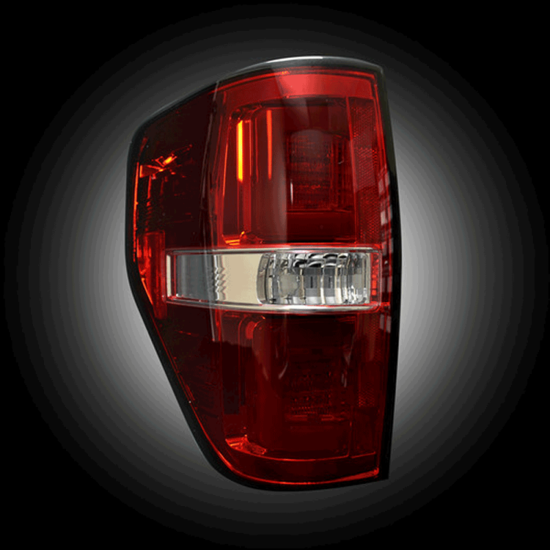 Recon Red Fiber Optic Led Tail Lights 2009 2014 Ford F