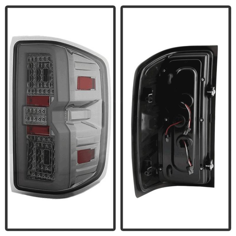 Spyder® Chrome/Smoke Fiber Optic LED Tail Lights | 2015 ...