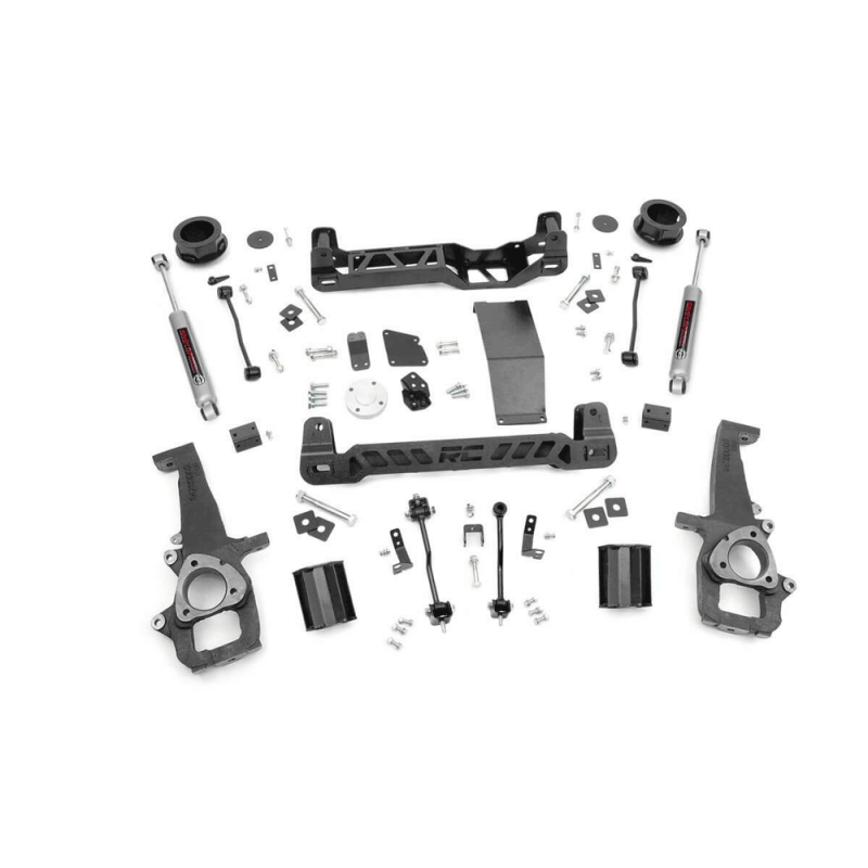 Rough Country 4in Suspension Lift Kit | 2012-2018 Dodge Ram 1500 4WD