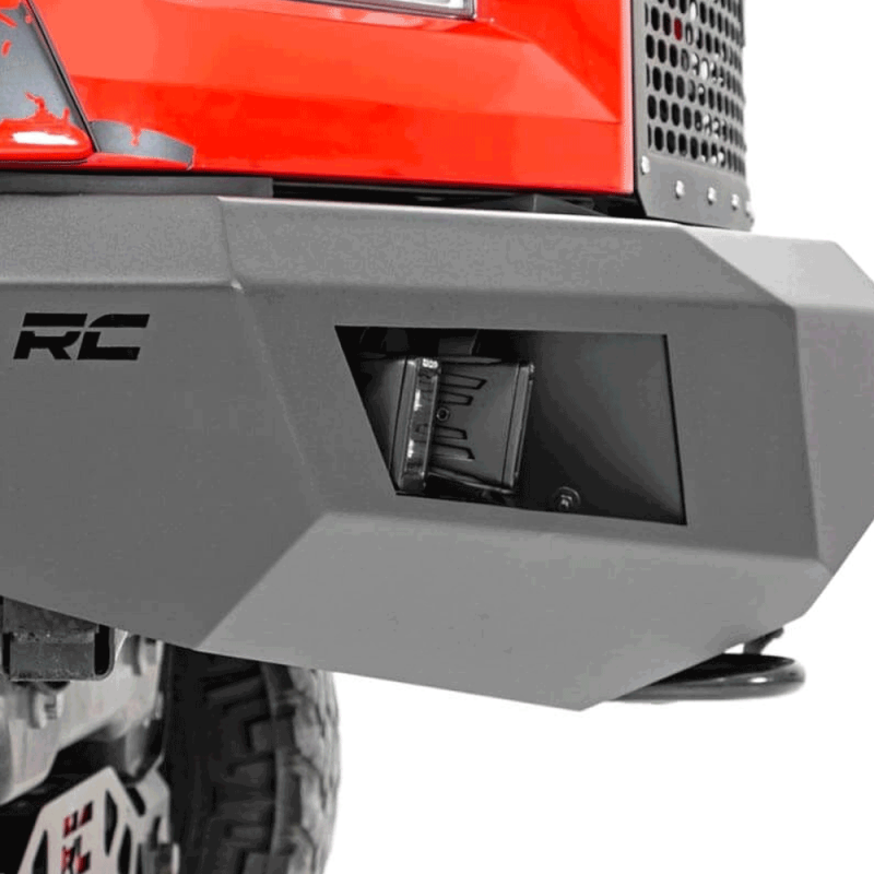 Rough Country Heavy-Duty Front LED Bumper | 2015-2017 Ford F