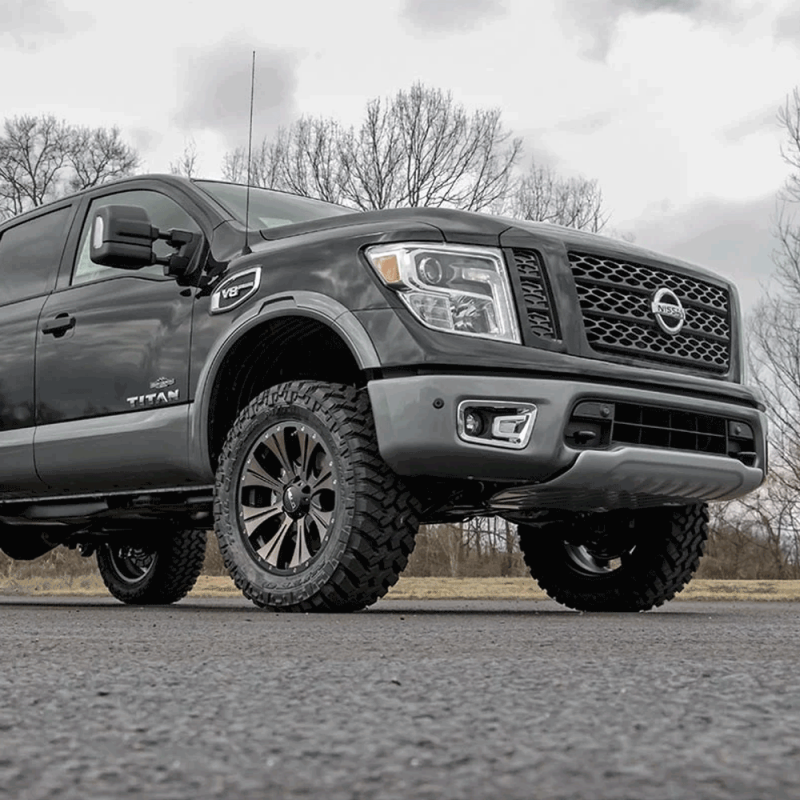Rough Country 3in Bolt On Lift Kit 2004 2018 Nissan Titan Dales