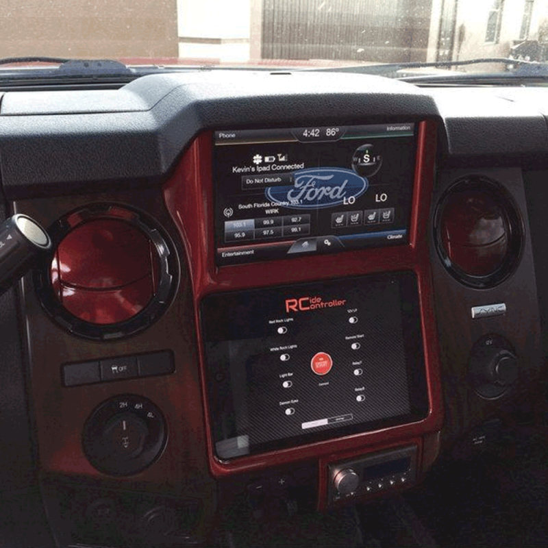 Retro Customz iPad In-Dash Kit | 2013-2016 Ford F-250/F-350