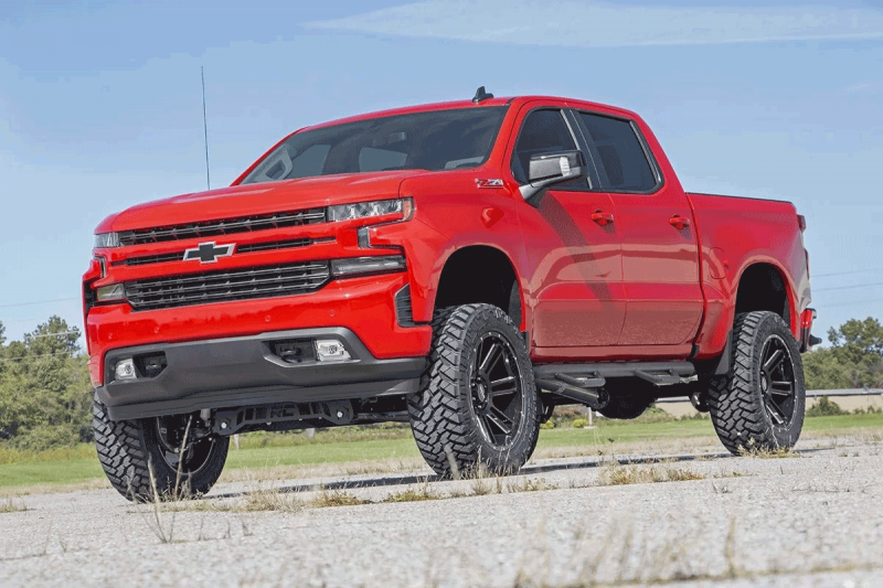 Rough Country 6in Suspension Lift Kit   Strut Spacers   2019