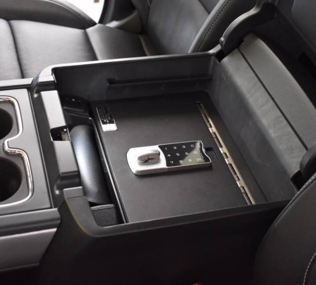 Locker Down Console Safe | LD2042 | 2015-2019 Chevy/GMC ...