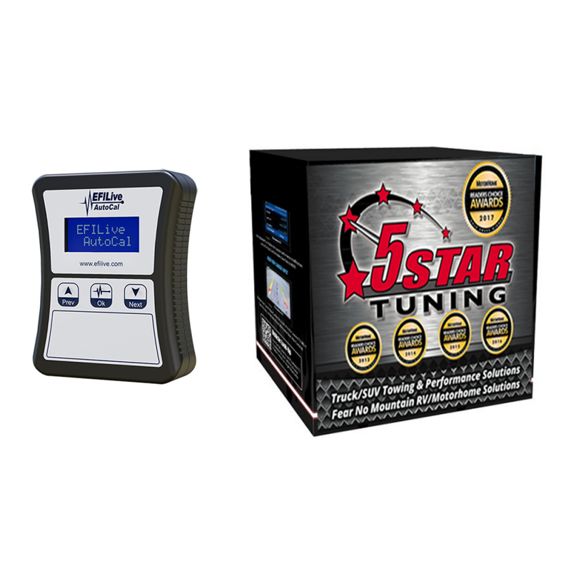 5 Star Custom Tunes with EFI Live AutoCal Tuner | 2014-2018