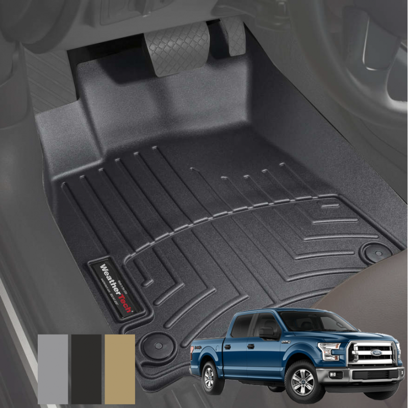 weathertech floor liners for ford f