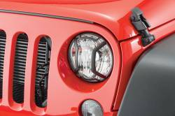 Exterior | 2007-2018 Jeep JK - Headlight Guards | 2007-2015 Jeep JK