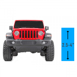 "Lift Kits | 2007-2018 JEEP JK - 2.5-4"" Lift 