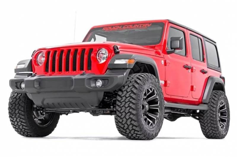 Rough Country perf694 3.25IN JEEP SUSPENSION LIFT KIT (07