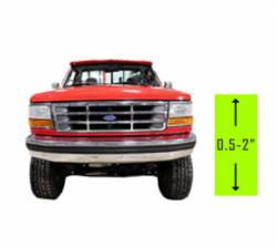 "Suspension Lift Kits | 1994-1997 Ford Powerstroke 7.3L - .5"" - 2"" Lift 