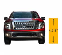 "Suspension Lift Kits | 2016-2017 5.0L Nissan Titan XD Parts - 4.5"" - 8"" Lift 