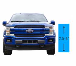 "Suspension Lift Kits | 2017-2019 Ford F-150 EcoBoost 3.5L - 2.5"" - 4"" Lift 