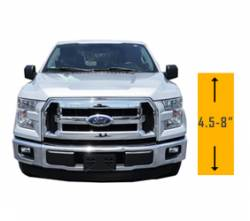 "Suspension Lift Kits | 2015-2016 Ford F-150 EcoBoost 3.5L - 4.5"" - 8"" Lift 