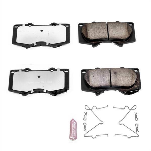 Z36 Truck /& Tow Front Carbon-Fiber Ceramic Brake Pads Power Stop Z36-1098