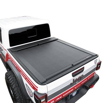 Roll N Lock M Series Tonneau Bed Cover Rollg496m 2020 Jeep Gladiator Dale S Super Store