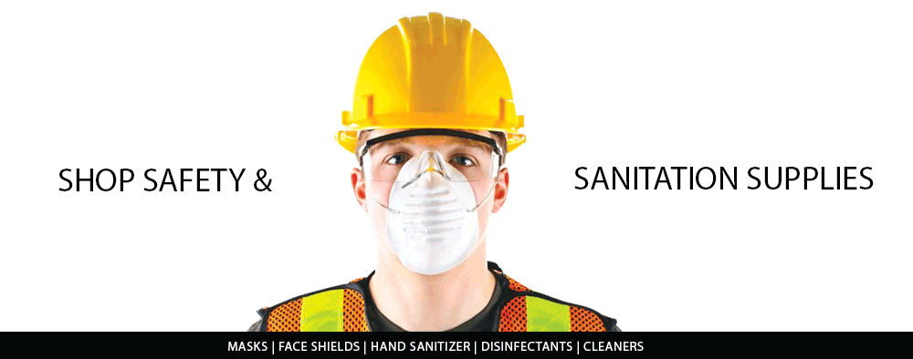 Shop Safety & Sanitation Supplies