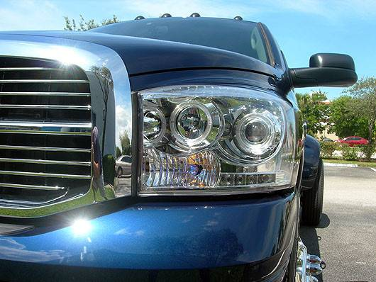 Led Lights Jeep Wrangler >> 2006-2008 Ram 1500 / 06-09 Ram 2500/3500 CLEAR Projector ...