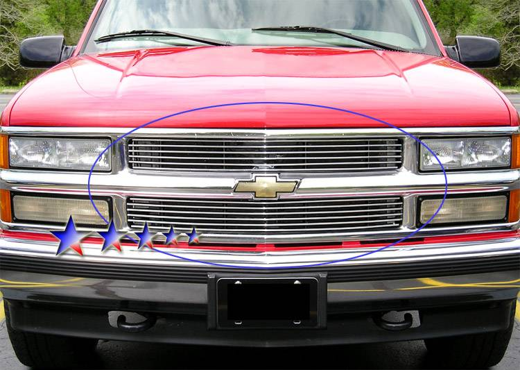 Chevy 1994-1999 C/K Pickup (Main & Upper) Dale's Polished ...