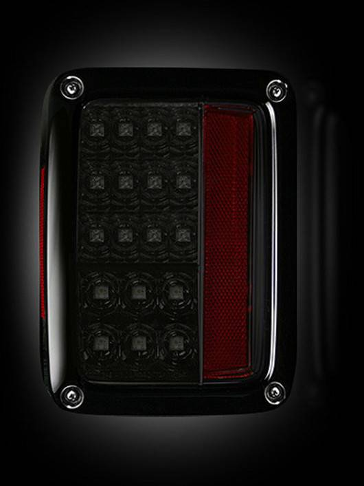Recon LED Tail Lights, Side Fender Lenses, & Front Turn ...