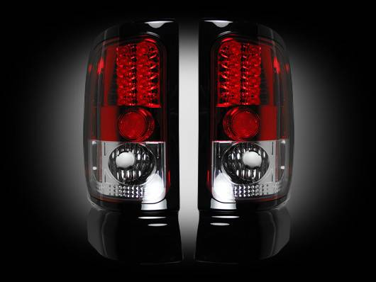 Recon 264170rd Led Tail Lights Red 1994 2001 Dodge