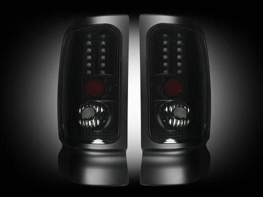 led tail lights smoked 1994 2001 dodge ram 1500 1994 2002 ram. Black Bedroom Furniture Sets. Home Design Ideas