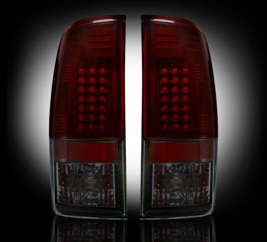 recon 264172rbk led tail lights red smoked 1999 2007. Black Bedroom Furniture Sets. Home Design Ideas